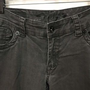 Seven7 Jeans - Seven7 Skinny Jeans Dark Grey Size 12